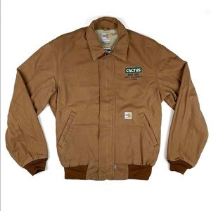 Carhartt Flame Resistant Coat Custom Embroidered